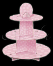 BABY SHOWER Cupcake Stand Pale Pink Cup Cakes Birthdays Celebrations Decoration