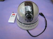 CCTV Pan Tilt IIR Dome Camera SONY CCD w Remote Control 18LEDS LENS 3.6mm