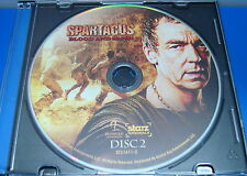 SPARTACUS BLOOD AND SAND FIRST SEASON 1 DISC 2 ONLY REPLACEMENT DISC