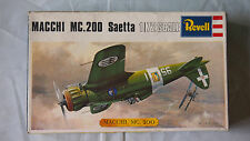 VINTAGE REVELL MACCHI MC.200 SAETTA MODEL KIT 1/72  #H657