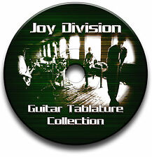 JOY DIVISION INDIE ALTERNATIVE ROCK GUITAR TABS TABLATURE SONG SOFTWARE CD
