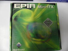 New VIA Technologies EPIA-TC6000E Fanless Motherboard c3 600MHz VGA DDR