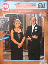 POINT DE VUE N° 1338 REINE PAYS-BAS JULIANA SUEDE SILVIA SOMMERLATH 1974
