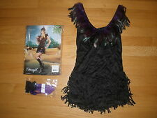 BRAND NEW WOMEN'S SUPER SEXY 3PC POW WOW INDIAN GIRL HALLOWEEN COSTUME XLARGE