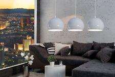 Leuchter Exclusives Design Hängelampe Hängeleuchte Chrom Metall Lampe mit Kugeln