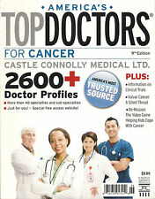 NEW! AMERICA'S TOP DOCTORS For Cancer Doctor Profiles Clinical Trials Info cPICs