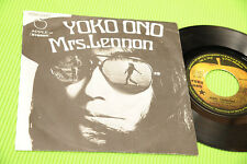"YOKO ONO 7"" MRS LENNON ( BEATLES ) ORIG ITALY 1971 EX+ ONLY ITALY COVER !!!"