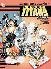 New Teen Titans Games by Marv Wolfman DC Comics (Paperback, 2013)  9781401203191