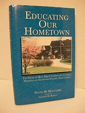 EDUCATING Blue Ridge Community College SIGNED NORTH CAROLINA Transylvania HBDJ