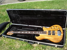 B.C. Rich Greg Weeks 4 String Eagle Bass Koa