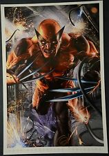 Wolverine Print Signed by Greg Horn