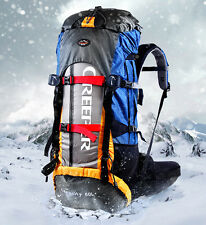 New 60L Large Sports Outdoor Waterproof Nylon Backpack Camping Hiking Travel Bag