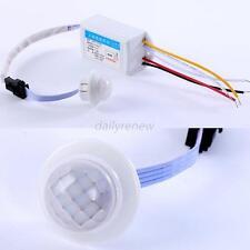 220V IR Infrared Module Body Sensor Intelligent Light Bulb Motion Sensing Switch