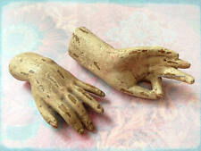 "Pair of SANTOS Saint Mannequin Hands; 4(.5)"" Small Doll-Style Hand Duo (Display)"