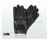 MEN'S DRIVING GLOVES TOP QUALITY SOFT GENUINE REAL LEATHER - FASHION MOTOR BIKE