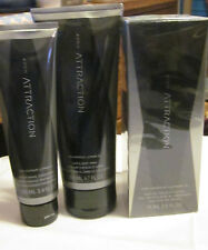 "AVON ""ATTRACTION""Eau de Toilette Spray+ Hair & Body Wash+After Shave Conditioner"