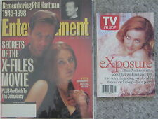 X-FILES VINTAGE 1996 TV GUIDE '98 ENTERTAINMENT WEEKLY MAGAZINE GILLIAN ANDERSON
