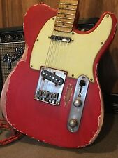 Relic Fender Squier Telecaster Electric Guitar Wilkinson Vintage Pickups Worn