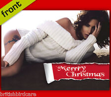 CHERYL COLE #2 Autograph Signed Christmas Card Print INCLUDES ENVELOPE A5 Size