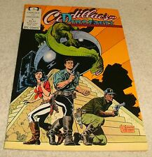 EPIC COMICS CADILLACS AND DINOSAURS # 4 VF+