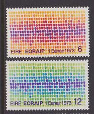 IRELAND, Scott #327-328, MNH, 1973 Irish Entry into EEC - Complete