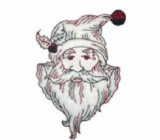 1091:  Machine Embroidery Designs - Christmas Time II - Redwork