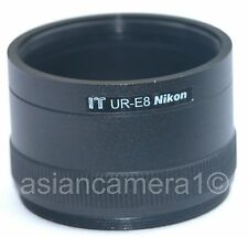 For Nikon UR-E8 Converter Adapter Ring  Coolpix 5700 8700 Camera Fast Shipping