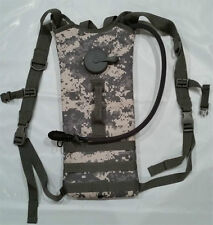 3 Litter Backstrap Hydration System Pack with Bladder ACU Camo Molle Compatible
