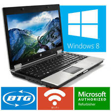 HP Laptop Elitebook Computer Windows 10 Intel i5 Dual Core Win Ram WiFi Notebook