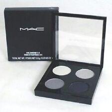 MAC Eye Shadow Quad 'Melt My Heart' ~ Silver & Black ~ Full Sz. Ltd. Ed. NIB