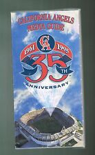 1995 California Los Angeles Angels Baseball MLB Media GUIDE
