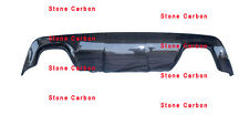 M Style Carbon Fiber Rear Diffuser For BMW E60 M-Tech Rear Bumper