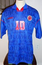 VTG UMBRO COLOMBIA PIBE VALDERRAMA SOCCER JERSEY FOOTBALL SHIRT MLS TAMPA BAY  L