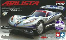 TAMIYA 1:32 MINI 4WD ABILISTA  CLEAR PURPLE BODY CON MOTORE  ART 95218