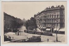 AK Wien I, Kärntnerring, Strassenbahnen Foto-AK 1930