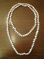 Collana di perle d'acqua dolce. /  Sweet water pearls necklace.