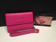Bodhi Pink Italian Soft Leather iPhone 4/4S Wallet Wristlet NWT  $98