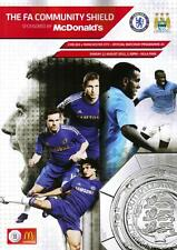 * 2012 COMMUNITY SHIELD - CHELSEA v MAN CITY *