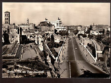 1957 real photo Imperials Forums Street Rome Italy 4 x 6 postcard
