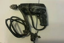 "Old vintage  zephyr 1/4"" electric drill model 1950H all metal well built ""used"""