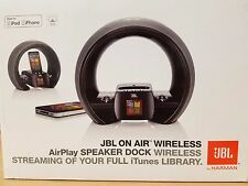 JBL ON Air Wireless by Harman Older Generation IPhone/IPad/IPod, AUX, & Radio