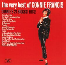 CONNIE FRANCIS - THE VERY BEST OF CD ~ STUPID CUPID +++ 60's GREATEST HITS *NEW*