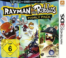 Nintendo 3DS Spiel Rayman and Rabbids Family Pack