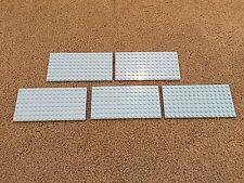Lego Base Plate Lot of 5 Blue - 8x16 Friends Style baseplates baseplate lot