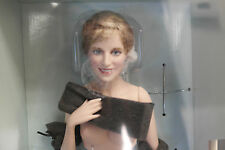 Franklin Mint Princess Diana Doll Porcelain SOPHISTICATION NUDE With Stand