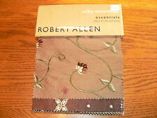 "Robert Allen ""Silky Essentials"" Multipurpose Fabric Sample Swatch Book #6814"