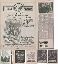 LITTLE RIVER BAND : CUTTINGS COLLECTION -adverts interview etc-