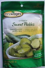 1 Pk Mrs.Wages Sweet Pickle Seasoning Mix 5.3 oz all Natural, Canning
