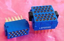 1 Pcs New LDFDTAH Hypertronics Connector 17 Pins 3 Rows Female NOS