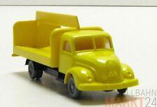 IMU Replika Magirus Rundhauber Getränke Wagen mit Ladefläche in gelb H0 1:87